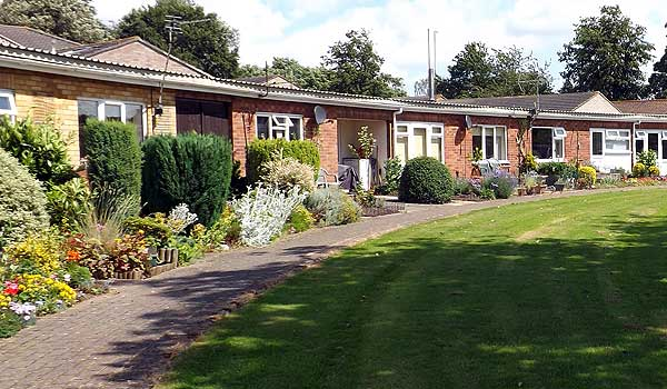 Sheltered Housing gardens