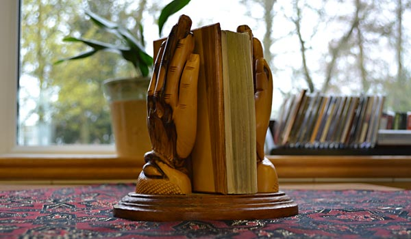 Wooden sculpture from one of our residents